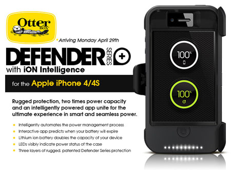 OtterBox Defender w/ iON App