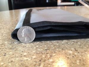 thin as a quarter!
