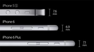 iPhone 6 thickness